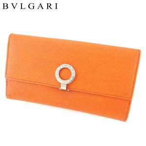 ■管理番号:T8729  【商品説明】 ブルガリ【BVLGARI】の  長財布です。 定番人気のブル...