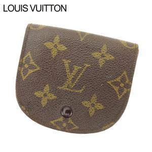 ルイ ヴィトン Louis Vuitton コインケース 小銭入れ レディース メンズ ポルトモネ・グセ M61970 モノグラム 中古|branddepot-tokyo