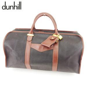 ■管理番号:T8991  【商品説明】 ダンヒル【dunhill】の ボストンバッグです。 マチ幅が...