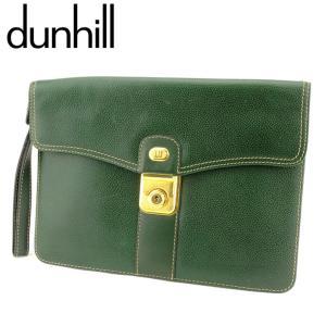 ■管理番号:T9045  【商品説明】 ダンヒル【dunhill】の クラッチバッグです。 定番人気...