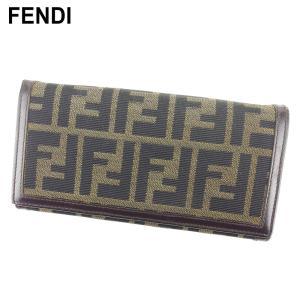■管理番号:T9231  【商品説明】 フェンディ【FENDI】の 長財布です。 定番人気のズッカ柄...