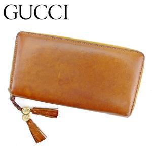 ■管理番号:T9336  【商品説明】 グッチ【GUCCI】の  長財布です。 オシャレなタッセル付...