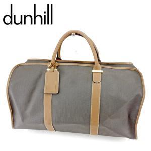 ■管理番号:T9345  【商品説明】 ダンヒル【dunhill】の  ボストンバッグです。 上品な...