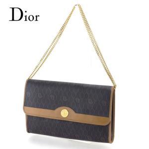 ■管理番号:T9792  【商品説明】 ディオール【Dior】の 「ヴィンテージ」 ショルダーバッグ...