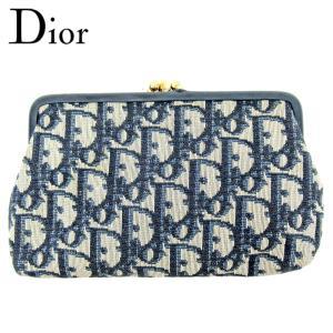 ■管理番号:T9828  【商品説明】 ディオール【Dior】の  化粧ポーチです。  ◆ランク 【...