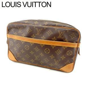 ルイヴィトン Louis Vuitton バッグ クラッチバッグ モノグラム コンピエーニュ28 レディース 中古 Bag|branddepot