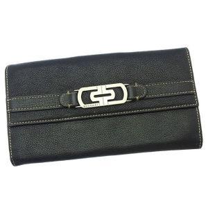 ブルガリ BVLGARI 長財布 Wホック 二つ折り メンズ可 パレンテシ 中古 良品 セール A870|branddepot