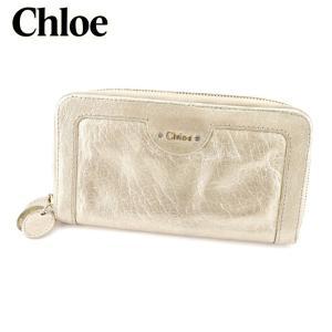 7656c6bee30e クロエ Chloe ラウンドファスナー財布 長財布 レディース メンズ 可 中古 人気 セール C2764