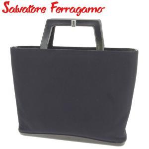 03cb4aa47d1c サルヴァトーレ フェラガモ Salvatore Ferragamo ハンドバッグ トートバッグ レディース ロゴ 中古 人気 セール C3274