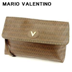 ポイント5倍 マリオ ヴァレンティノ MARIO VALENTINO ショルダーバッグ 斜めがけショルダー バッグ レディース メンズ 可 Vプレート 中古 訳あり セール C3364 branddepot