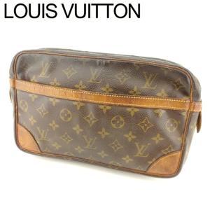 ポイント5倍 ルイ ヴィトン Louis Vuitton クラッチバッグ セカンドバッグ レディース メンズ コンピエーニュ28 M51845 モノグラム 中古|branddepot