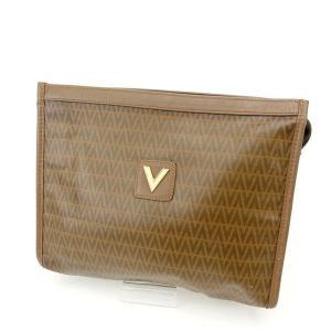 ポイント5倍 ヴァレンティノ Valentino バッグ クラッチバッグ ブラウン レディース 中古 Bag branddepot