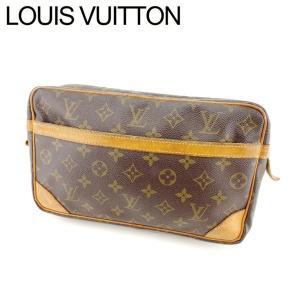 ポイント5倍 ルイヴィトン Louis Vuitton バッグ クラッチバッグ モノグラム コンピエーニュ28 レディース 中古 Bag|branddepot