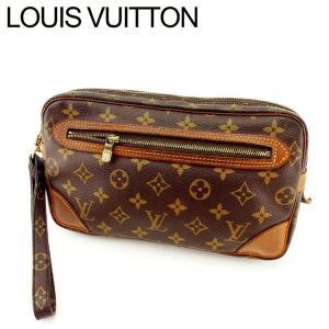 ポイント5倍 ルイヴィトン Louis Vuitton バッグ クラッチバッグ モノグラム マルリードラゴンヌGM レディース 中古 Bag|branddepot