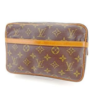 ポイント5倍 ルイヴィトン Louis Vuitton バッグ クラッチバッグ モノグラム コンピエーニュ23 レディース メンズ 訳あり 中古 Bag|branddepot