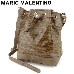 ポイント5倍 マリオ ヴァレンティノ MARIO VALENTINO ショルダーバッグ 巾着ショルダー レディース 中古 branddepot