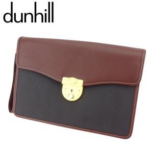 ■管理番号:G1289  【商品説明】 ダンヒル【dunhill】の クラッチバッグです。 高級感の...