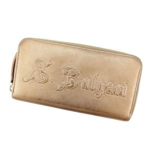 ブルガリ BVLGARI 長財布 ラウンドファスナー レディース 中古 激安 セール G709|branddepot