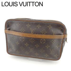ポイント5倍 ルイ ヴィトン Louis Vuitton セカンドバッグ クラッチバッグ レディース メンズ コンピエーニュ M51845 モノグラム 中古|branddepot