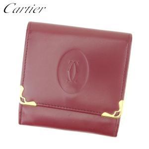 ■管理番号:L2591  【商品説明】 カルティエ【Cartier】の  コインケースです。 定番人...