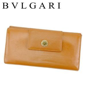 38b64d705a96 ブルガリ BVLGARI 長財布 Wホック 三つ折り 財布 レディース メンズ 20402 ロゴボタン 中古 人気 セール P905