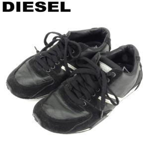 ■管理番号:Q570  【商品説明】 ディーゼル【DIESEL】の 「22.5サイズ」 スニーカーで...