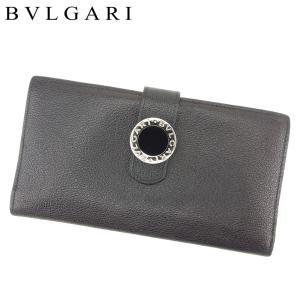2b799bdf45d9 ブルガリ BVLGARI 長財布 ファスナー付き 長財布 レディース メンズ ブルガリブルガリ 中古