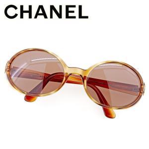 8a9c9dff53c7 シャネル CHANEL サングラス メガネ アイウェア レディース メンズ オーバル型 05976 91235 ココマーク 中古 人気 セール  T9504