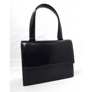 アニエスベー ハンドバッグ ブラック 黒 agnes b レザー レディース フォーマルバッグ|brandeal