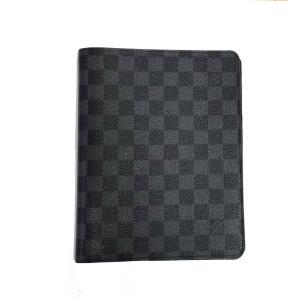 新品同様 ルイヴィトン 手帳カバー アジェンダ・ビューロー A5サイズ ダミエグラフィット ダミエ ブラック 手帳カバー R20974 LV|brandeal