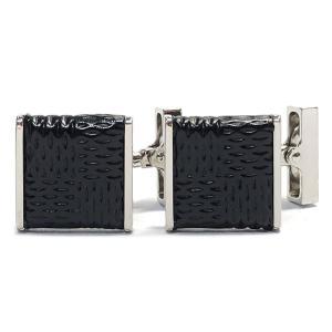 ルイヴィトン カフス カフリンクス カフスボタン M65072 ブラック 黒 ダミエ柄 メンズ LV シルバー ダミエ ビトン ルイ・ヴィトン|brandeal
