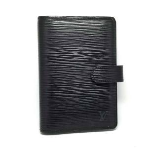 ルイヴィトン エピ 手帳カバー アジェンダPM R20052 黒 アジェンダ PM システム手帳 ブラック 6穴 LV レザー|brandeal