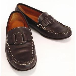 フェラガモ ヴァラ ローファー ブラウン 6C パンプス 靴...
