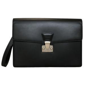 カルティエ セカンドバッグ パシャ レザー 黒 ブラック 2C L1000230 ハンドストラップ付 C2 メンズ ビジネスバッグ Cartier CARTIER 紳士|brandeal