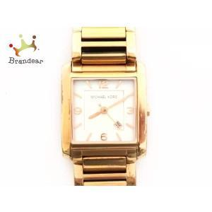 0163dbfdc54d マイケルコース MICHAEL KORS 腕時計 MK-3374 レディース シェル文字盤 白 スペシャル特価 20190412