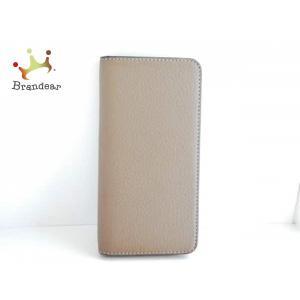 ボナベンチュラ 携帯電話ケース ダークブラウン 手帳型iPhoneケース レザー×プラスチック   ...