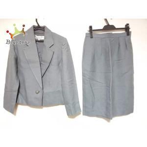 93db458cbac1ca クリスチャンディオール スカートスーツ サイズ9 M レディース グレー 肩パッド/PRET-A-PORTER スペシャル特価 20190322