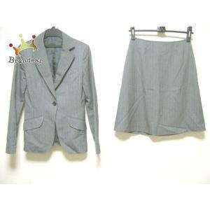 エムエフエディトリアル m.f.editorial スカートスーツ サイズS レディース グレー  ...