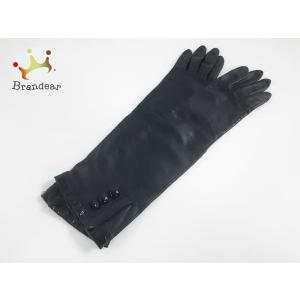 70013f01171a トレジャートプカピ TREASURE TOPKAPI 手袋 レディース 黒 レザー×エナメル(レザー) 新着 20190502