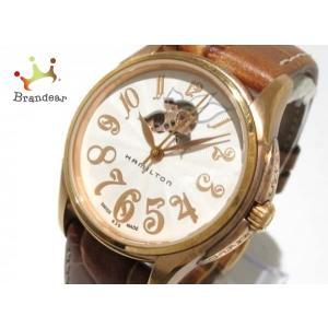 【ブランド】 HAMILTON(ハミルトン) 【ジャンル】 腕時計 【商品名】 ジャズマスター レデ...