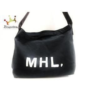 【ブランド】 MHL.(マーガレットハウエル) 【ジャンル】 トートバッグ 【実寸サイズ】 縦 : ...