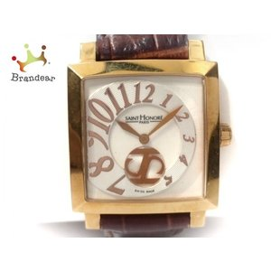 【ブランド】 SAINT HONORE(サントノーレ) 【ジャンル】 腕時計 【型番】 863017...