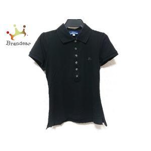 バーバリーブルーレーベル Burberry Blue Label 半袖ポロシャツ サイズ38 M レ...