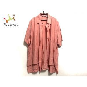 ナラカミーチェ NARACAMICIE 半袖シャツブラウス サイズ1 S レディース 美品 ピンク 肩パッド   スペシャル特価 20200823 brandear