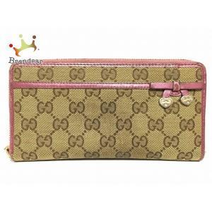 meet 46137 b29f5 グッチ 財布 ピンク ハート(財布、ファッション小物)の商品 ...