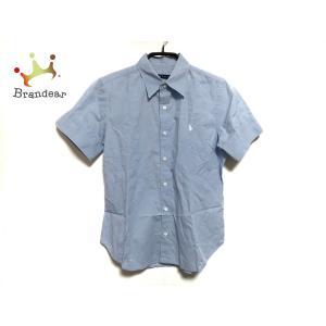 ラルフローレン RalphLauren 半袖シャツ サイズ7 メンズ ライトブルー   スペシャル特価 20200711|brandear