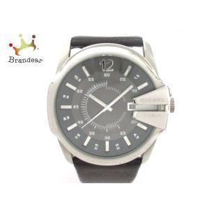 ディーゼル DIESEL 腕時計 - DZ-1206 メンズ 黒×ダークグレー  スペシャル特価 2...