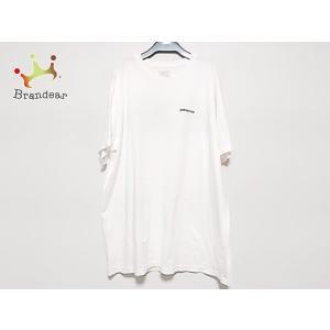 パタゴニア Patagonia 半袖Tシャツ サイズXL メンズ 美品 白×黒 ragular fi...