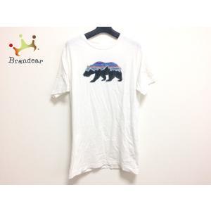 パタゴニア Patagonia 半袖Tシャツ サイズS メンズ 白×黒×マルチ 新着 2019092...