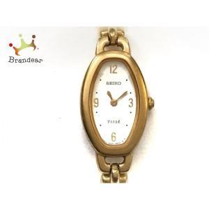 セイコー SEIKO 腕時計 ティセ 2E20-7110 レディース 白 新着 20191129